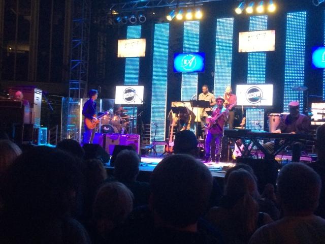 Gregg Allman and his 8-piece band